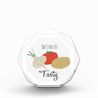 Start of Tasty Acrylic Award