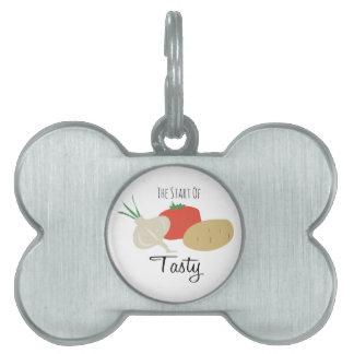 Start of Tasty Pet Tags