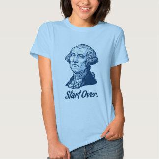 Start Over George WashingtonT-Shirt Shirt