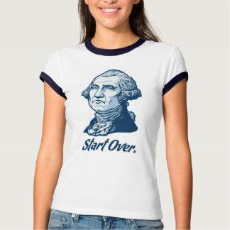 Start Over George WashingtonT-Shirt Tees