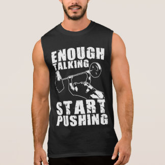 Start Pushing - Bench Press - Workout Motivational Sleeveless Shirt