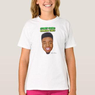 Start Slow Finish Fast - Big Head Girls T-Shirt