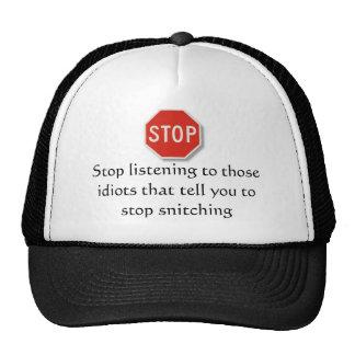 start snitching mesh hats