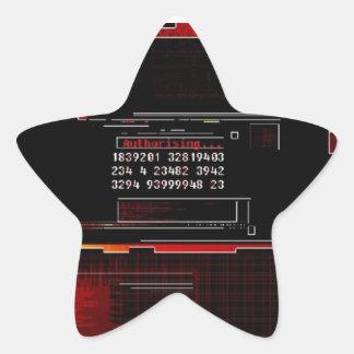 Start Tech Star Sticker