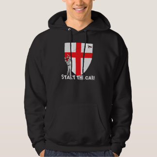 Start the car England Ashes 2009 Hoodie