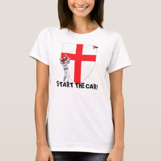 Start the car England Ashes 2009 T-Shirt