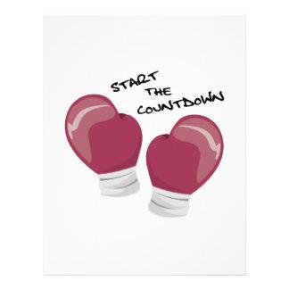 Start the Countdown Letterhead