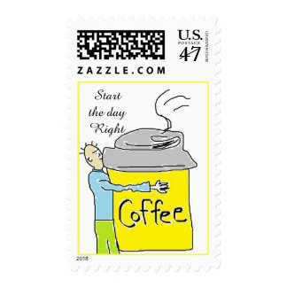 start the day Right Postage