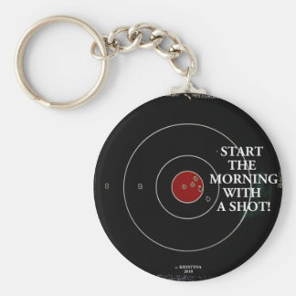 START THE MORNING KEYCHAIN