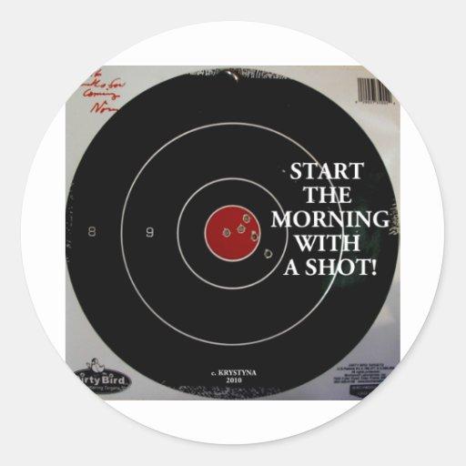 START THE MORNING STICKER