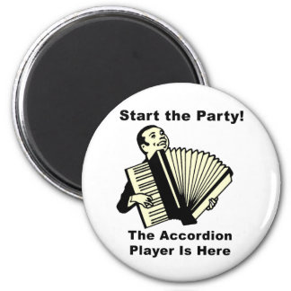 Start the Party! 2 Inch Round Magnet