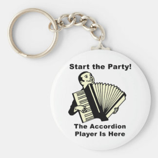 Start the Party! Keychain