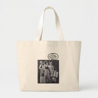Start the Party! The Accordion Players Are Here Large Tote Bag