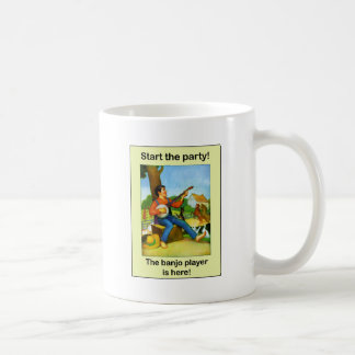 Start the party! The banjo player is here! Coffee Mug