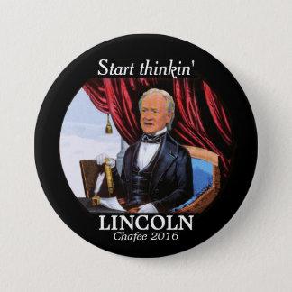 Start thinkin' LINCOLN Button