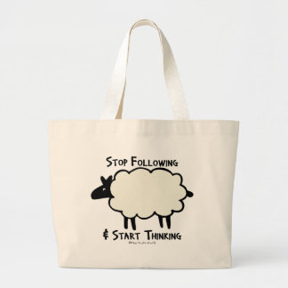 Start Thinking Canvas Bags