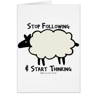 Start Thinking Card