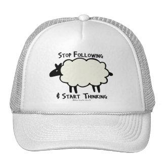 Start Thinking Trucker Hat