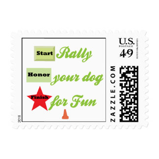 Start To Rally Postage Stamp