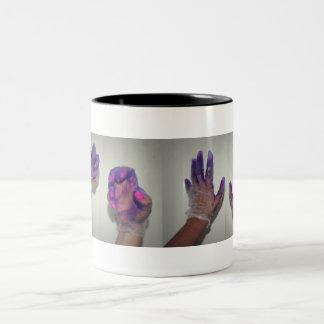 Start Wearing Purple Two-Tone Coffee Mug