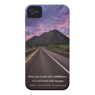 Start with confidence...Inspirational iPhone 4 Case-Mate Case