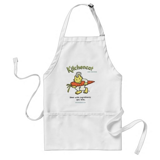 """""""Start with ingredients you love"""" Apron"""