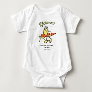 """""""Start with ingredients you love"""" Baby Bodysuit"""