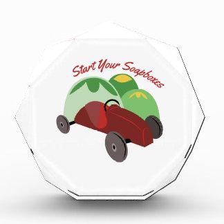 Start Your Soapboxes Acrylic Award