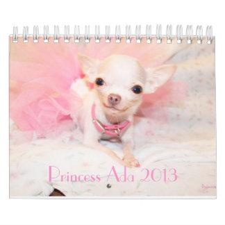 Starting from April-December 2013 Princess Ada Calendar
