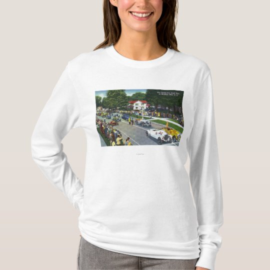 Starting Line at the Grand Prix Auto Race T-Shirt