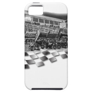 Starting Lineup Winged Sprint Cars iPhone SE/5/5s Case