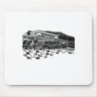 Starting Lineup Winged Sprint Cars Mouse Pad