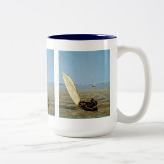 Starting Out After Rain Two-Tone Coffee Mug