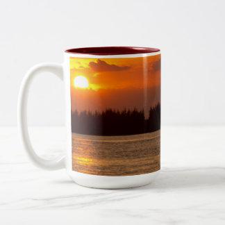 Starting to Hide Sunset Mug