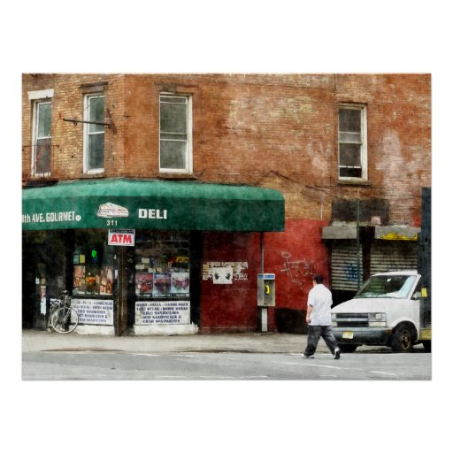 STARTING UNDER $20 - 10th Ave. Deli in Manhattan Print