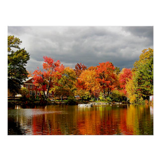 STARTING UNDER $20 - Autumn Storm Coming Poster
