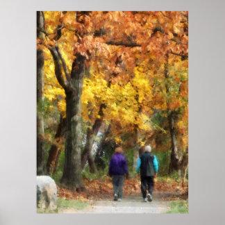 STARTING UNDER $20 - Autumn Stroll Poster