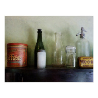 STARTING UNDER $20 - Bottles and a Coffee Can Poster