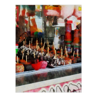 STARTING UNDER $20 - Candy Apples Poster