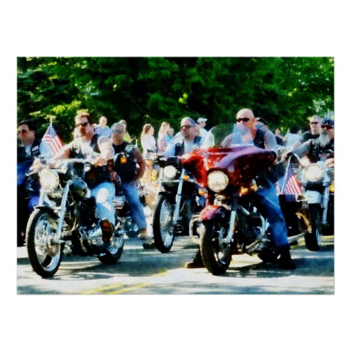STARTING UNDER $20 - Motorcycle Club Poster