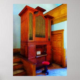 STARTING UNDER $20 - Organ in Church Poster