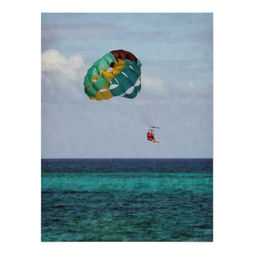 STARTING UNDER $20 - Parasailing in the Bahamas Poster