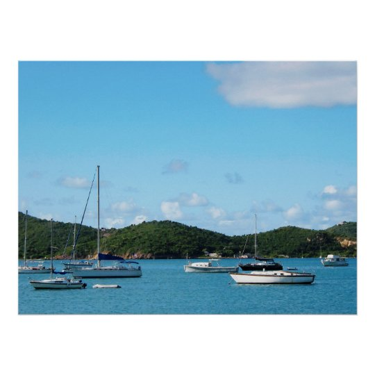 STARTING UNDER $20 - Peaceful Sea St. Thomas Poster