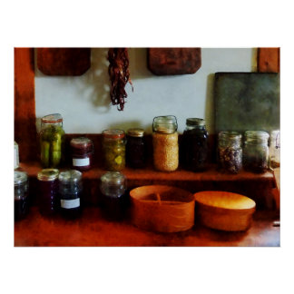 STARTING UNDER $20 - Pickles, Beans and Jellies Poster