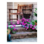 STARTING UNDER $20 Pink Petunias and Watering Cans Print