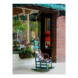 STARTING UNDER $20 - Rocking Chair by the Boutique Poster