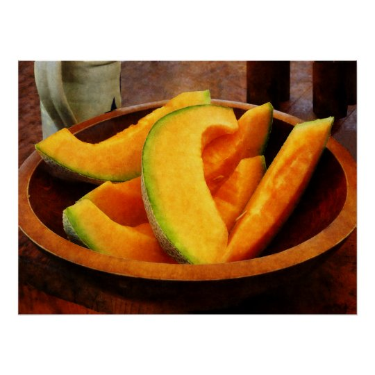 STARTING UNDER $20 - Slices of Cantaloupe Poster