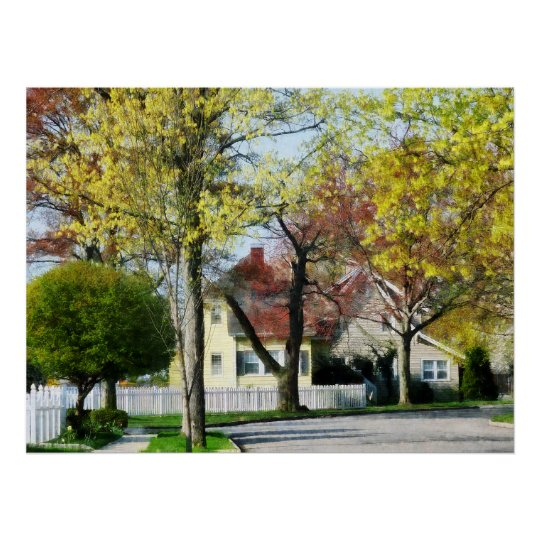 STARTING UNDER $20 - Spring Begins in the Suburbs Poster