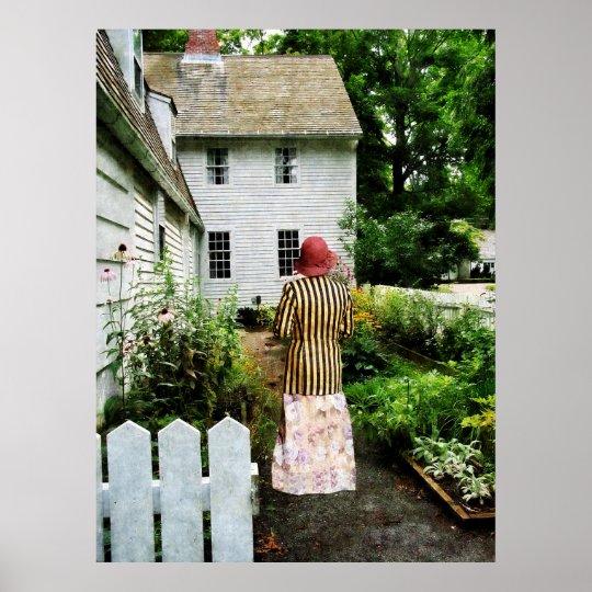 STARTING UNDER $20 -Striped Jacket, Flowered Skirt Poster