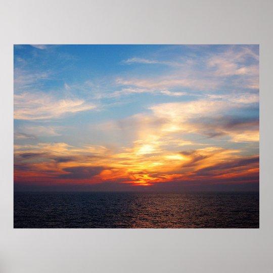 STARTING UNDER $20 - Sunrise At Sea Poster